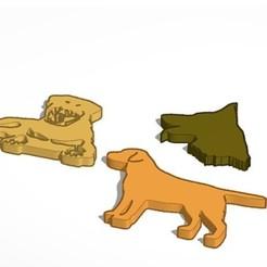 4-8-2020 20.8.38 2.jpg Télécharger fichier STL Meute de silhouettes de chiens • Design pour imprimante 3D, lafabrika