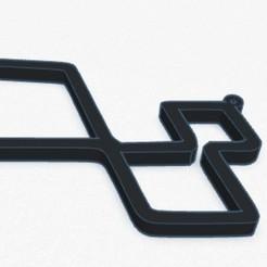 21-9-2020 21.9.6 1.jpg Download STL file Renault Sport key ring • Model to 3D print, lafabrika