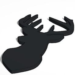 5-12-2020 14.12.36 1.jpg Télécharger fichier STL silhouette de cerf • Objet à imprimer en 3D, lafabrika