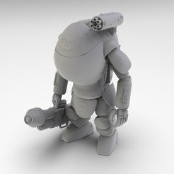 Download 3D printing files Armored Suit LFS-02B 1:20, three-triangle
