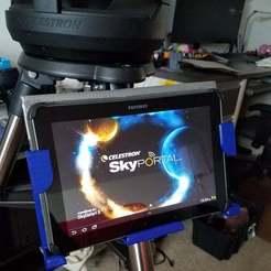20181125_100459.jpg Télécharger fichier STL gratuit Monture de la tablette du télescope • Plan pour imprimante 3D, stefan042
