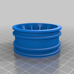 Download free STL file Thunder Tiger Panda Danny Thompson`s Stadium Racer 1/10 rear wheel • Template to 3D print, stefan042