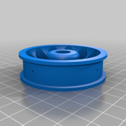 Download free STL file Thunder Tiger Panda Danny Thompson`s Stadium Racer 1/10 front wheel • 3D printer model, stefan042