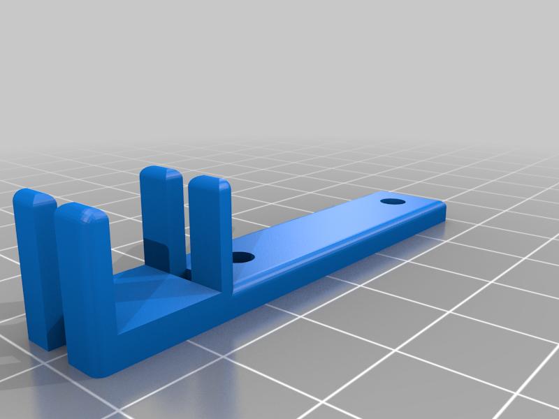 EZR_Struder_-_Cable_clip.png Télécharger fichier STL gratuit EZR Strder Séjour en câble • Modèle imprimable en 3D, stefan042