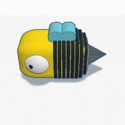 1.JPG Télécharger fichier STL Abeille Collecteur Travailleur Abeille Collecteur • Plan à imprimer en 3D, positivity