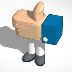 Captura2.JPG Download STL file Like I like Mano Hand • 3D print design, frutespa