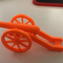 Field Cannon.jpg Télécharger fichier STL Canon de campagne simple • Objet imprimable en 3D, cdlord