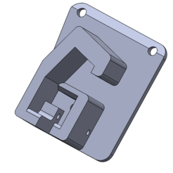 holster base.PNG Download STL file holster duty p-07 stti • 3D printer template, kahuma82