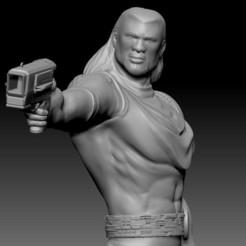 Bishop stl2.jpg Download STL file Bishop Xmen • 3D printable template, juanservera