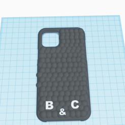 3D design iphone 11 case B and c _ Tinkercad - Google Chrome 14_04_2020 22_50_13.png Télécharger fichier STL coque iphone 11 relaxante • Design imprimable en 3D, billy_and_co_official