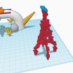 Télécharger fichier impression 3D gratuit Tour eifel, billy_and_co_official
