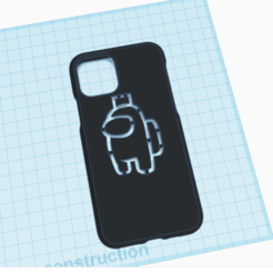 3D design iphone case goku _ Tinkercad - Google Chrome 14_11_2020 14_38_07.png Download STL file Iphone case Among us • Design to 3D print, billy_and_co_official