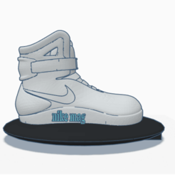 nike mag B and C _ Tinkercad - Google Chrome 15_04_2020 12_05_52.png Download STL file back to the future led lamp • 3D printer template, billy_and_co_official
