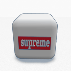 iphone 11 case B and c qr code supreme x lv _ Tinkercad - Google Chrome 15_04_2020 22_54_32.png Download STL file Lv x SUPREME die • 3D printer model, billy_and_co_official