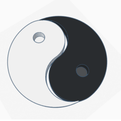 ying and yang _ Tinkercad - Google Chrome 27_04_2020 14_26_20.png Télécharger fichier STL ying and yang • Plan pour imprimante 3D, billy_and_co_official