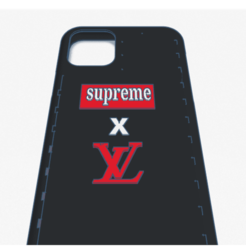 iphone 11 case B and c qr code supreme x lv _ Tinkercad - Google Chrome 15_04_2020 22_53_32.png Download STL file iphone 11 Lv x Supreme • 3D print model, billy_and_co_official