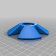 Filament_nut.png Télécharger fichier STL gratuit Support mural facile pour porte-filament de luxe • Design imprimable en 3D, jennifersirtl