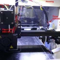 Descargar Modelos 3D para imprimir gratis Organizador de cables para Ender Hotend (con extrusión directa), jennifersirtl