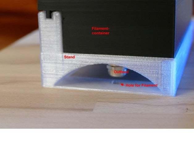 P1350757.JPG Télécharger fichier STL gratuit Stand de filamentcontainer • Design imprimable en 3D, jennifersirtl