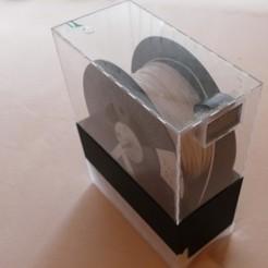 P1360521.JPG Download free STL file THIN SPOOL HOLDER FOR THING Version2 • 3D printer template, jennifersirtl