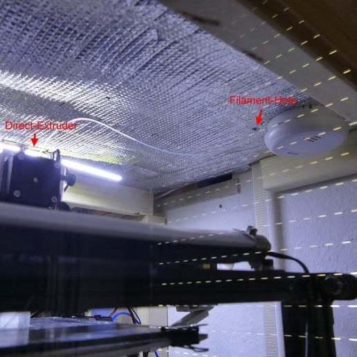 P1350788.JPG Télécharger fichier STL gratuit Support mural facile pour porte-filament de luxe • Design imprimable en 3D, jennifersirtl