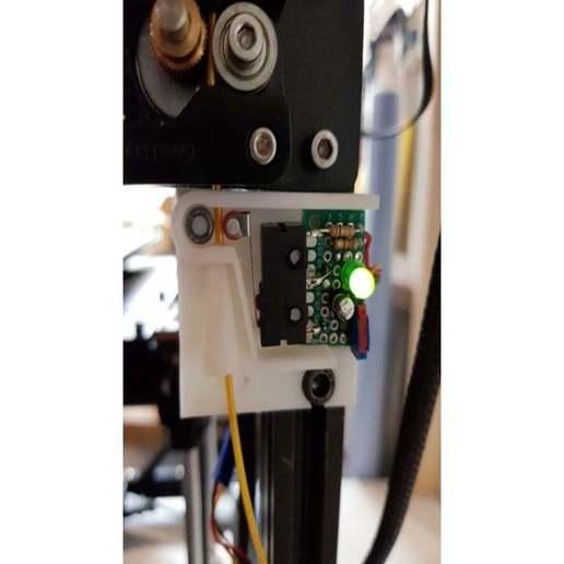 Télécharger fichier STL gratuit Détecteur et alimentateur de filament d'échappement Ender • Modèle à imprimer en 3D, jennifersirtl