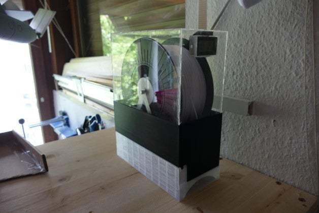 P1360070.JPG Download free STL file Thin Spool Holder for Thing • 3D print object, jennifersirtl