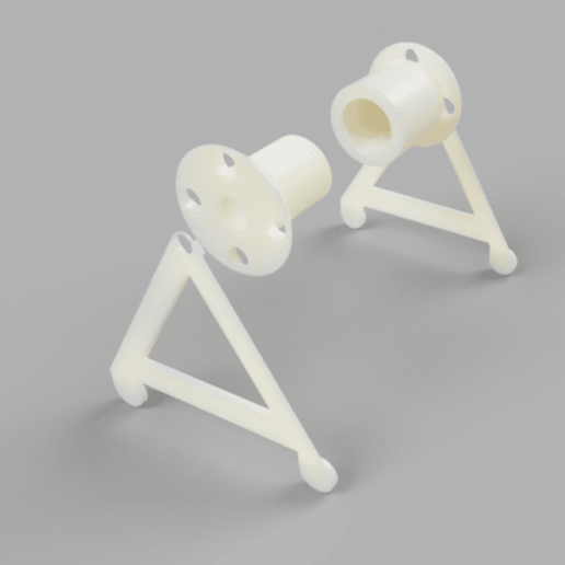 tsh1.png Download free STL file Thin Spool Holder for Thing • 3D print object, jennifersirtl