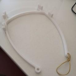 Imprimir en 3D gratis Arco de visor COVID, lga57
