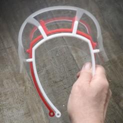 Télécharger plan imprimante 3D gatuit Visière COVID pour enfant, lga57