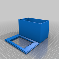 Nextion_3.5_inch_screen_project_box.png Download free STL file Nextion 3.5 inch screen project box with usb cable power opening • 3D printable model, roblatour