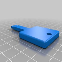 Descargar diseños 3D gratis Sears Craftsman reemplazo Snowblower Key, roblatour