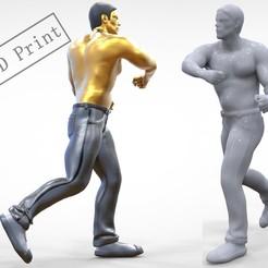 p3.1e2.jpg Download 3MF file N1 Human Fighting 1 64 miniature 3D print model • 3D printable object, nasiri12460