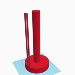Impresiones 3D gratis porta rollo cocina, ragalian