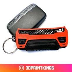 Download free 3D printer designs Range Rover Sport (2nd Gen) - Key Chain, 3dprintkings