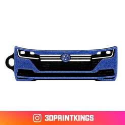 Download free 3D printer designs VW Arteon - Key Chain, 3dprintkings