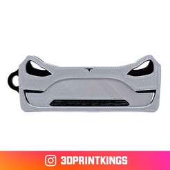 Thingi-Image.jpg Download free STL file Tesla Model 3 - Key Chain • 3D printable object, 3dprintkings