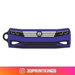 Thingi-Image.jpg Download free STL file VW Passat (B8) - Key Chain • 3D printer model, 3dprintkings