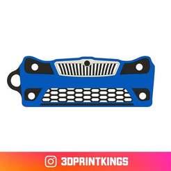 Thingi-Image.jpg Download free STL file Skoda Octavia RS MK2 Facelift - Key Chain • 3D printable model, 3dprintkings