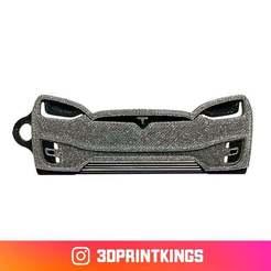 Thingi-Image.jpg Download free STL file Tesla Model X - Key Chain • 3D print object, 3dprintkings