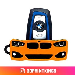 Thingi-Image.jpg Download free STL file BMW 1 Series (F20) - Key Chain • Model to 3D print, 3dprintkings