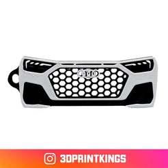 Thingi-Image.jpg Download free STL file Audi A1 (GB) - Key Chain • Model to 3D print, 3dprintkings