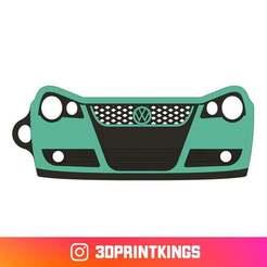 Thingi-Image.jpg Download free STL file VW Polo GTI 9N3 - Key Chain • Template to 3D print, 3dprintkings