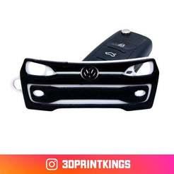 vwup.jpg Download free STL file VW UP! - Key Chain • Model to 3D print, 3dprintkings