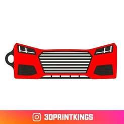 Thingi-Image.jpg Download free STL file Audi TT (FV/8S Facelift) - Key Chain • 3D printable template, 3dprintkings