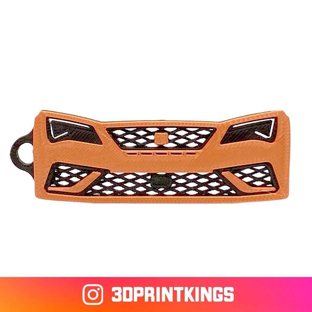 Thingi-Image.jpg Download free STL file Seat Leon Cupra R - Key Chain • 3D printer model, 3dprintkings