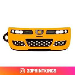 Download free STL file Seat Leon Cupra (1st Gen) - Key Chain • Template to 3D print, 3dprintkings