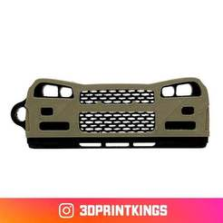Thingi-Image.jpg Download free STL file Nissan GTR R34 - Key Chain • 3D printing design, 3dprintkings