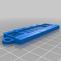 Télécharger fichier impression 3D gratuit Ford Bronco '79 - Porte-clés, 3dprintkings