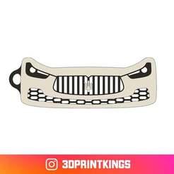 Thingi-Image.jpg Download free STL file Maserati Ghibli S - Key Chain • 3D printer model, 3dprintkings
